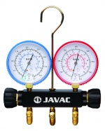 Javac EL66300 2 Way manifold R410a NSG, no hoses,clear box