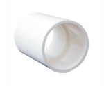 Aspen B7541 21.5mm (3/4'') White Overflow Connector