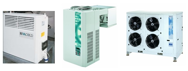 Rivacold Refrigeration MonoBlock and Ceiling Unit Coolers.