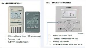 Daikin wired remote Controller Manual