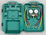 Refco R32/R410A 4 Way Manifold C/W Case