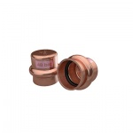 >B< MaxiPro Copper Press Fit Stop End - 1/4'', 3/8'', 1/2'', 5/8'', 3/4'', 7/8'', 1'', 1-1/8''