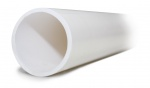 Aspen B7501 21.5mm (3/4'') White Overflow Drain Pipe 3M Length