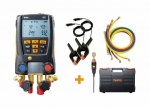 Testo 557 Digital Manifold Kit With Bluetooth & Set Of 4 Hoses