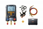 Testo 550 Digital Manifold Kit With Bluetooth & Set Of 3 Hoses