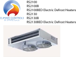 Rivacold Rs2100 Series Small Panel Ceiling Unit Cooler