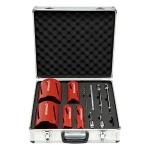 Rothenberger Dry Diamond Core Drill Set