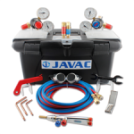 Javac F23220001 Welding Set Oxy-Act In Toolbox