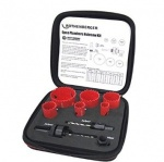 Rothenberger 9 Piece Holesaw Kit
