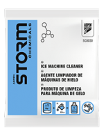 Storm Chemicals SC8030 Ice Machine Cleaner 1 Ltr Sachet