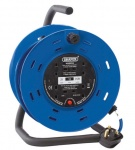 Javac JAV-26342 25m 230V Four Socket Cable Reel